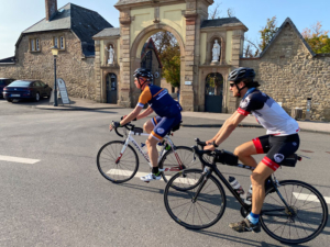Praktische Übungen beim Rennrad Guide Kurs in der Eifel | Foto: W. Helbig