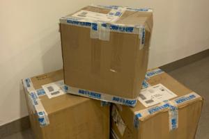 RC Trikot-Kartons auf dem Weg nach Afrika | Foto: RC MS